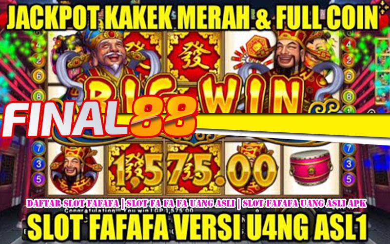 Daftar Slot Fafafa